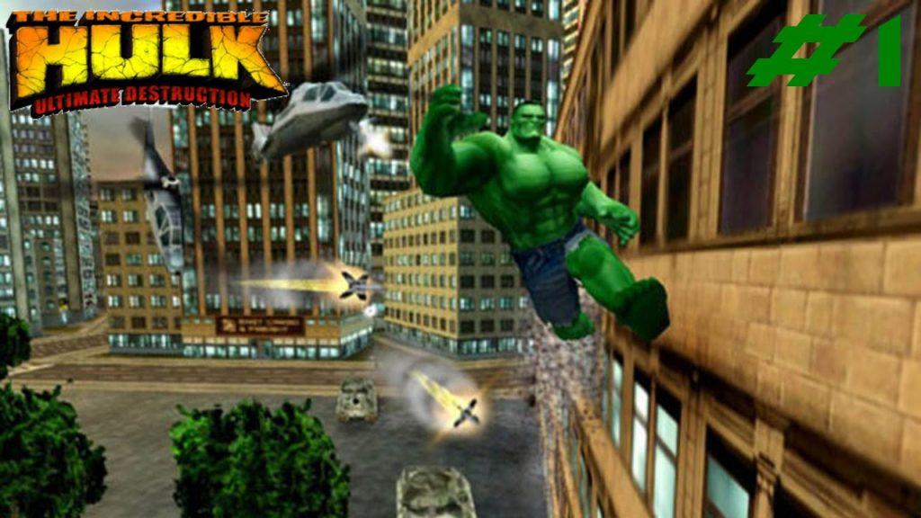 Game superhero terbaik - Incredible hulk 2005