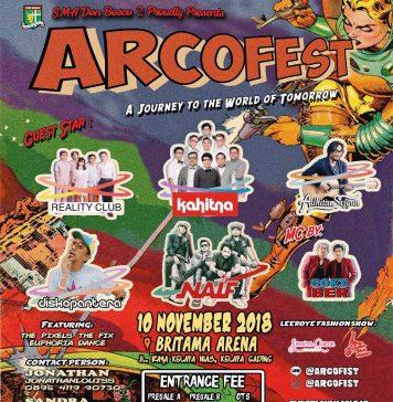 poster promo event arcofest 2018