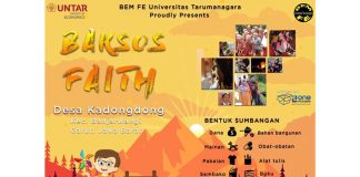 Event Bakti Sosial FAITH 2018