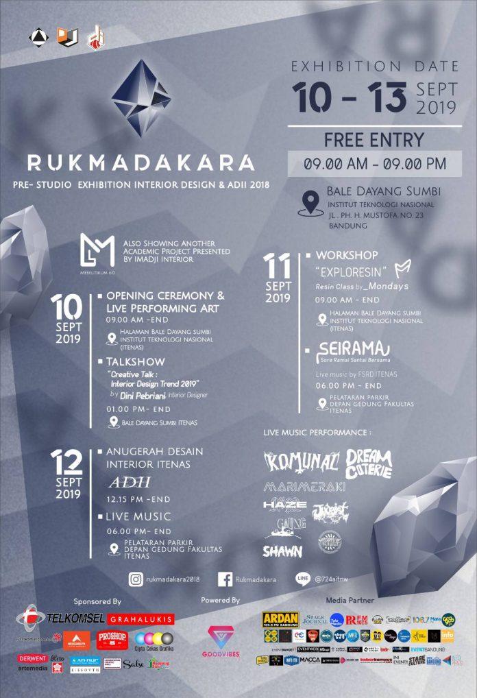 Event Rukmadakara Itenas 2019