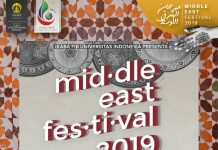 Event Middle East Festival FIB UI 2019