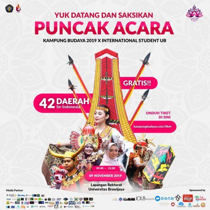 Event kampung budaya 2019
