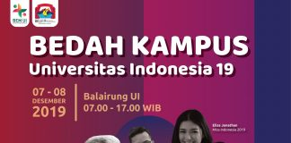 Event bedah kampus ui 2019