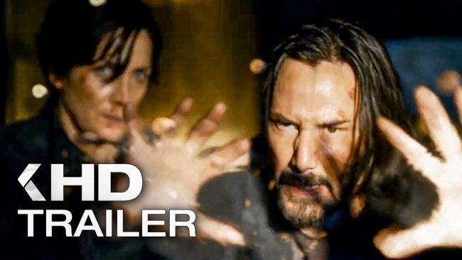trailer film the matrix 4 ressurections